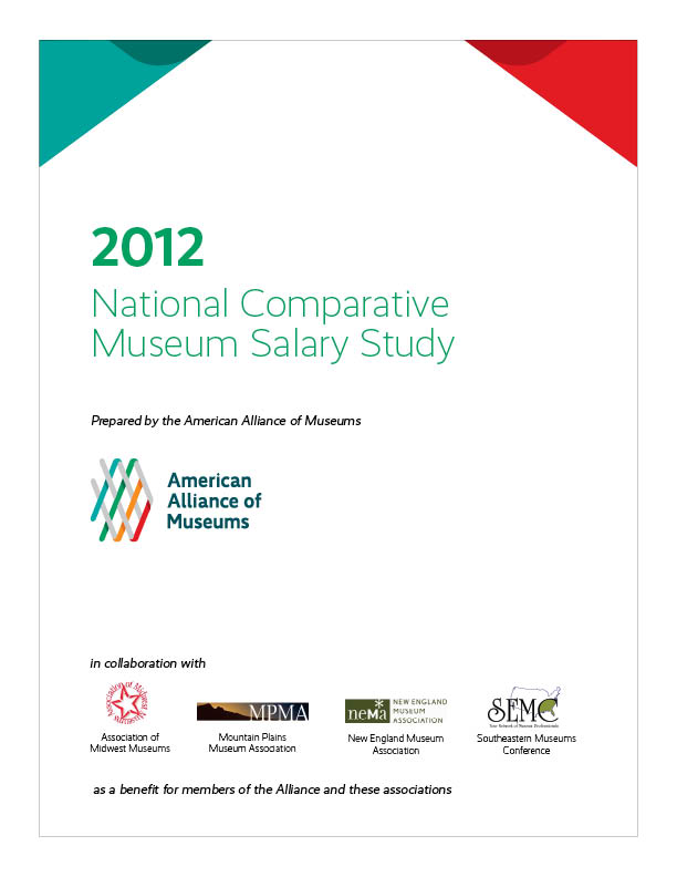 Book Cover: 2012 National Comparative Museum Salary Study