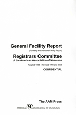 Cover Image: General Facility Report